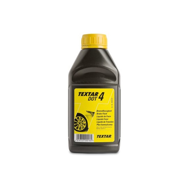Спирачна течност   DOT 4 - 500ml TEXTAR