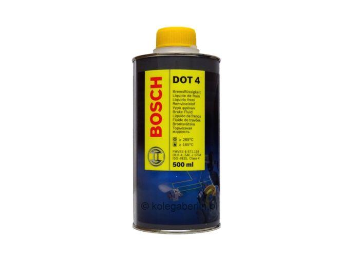 Спирачна течност  DOT 4  0.500ml BOSCH