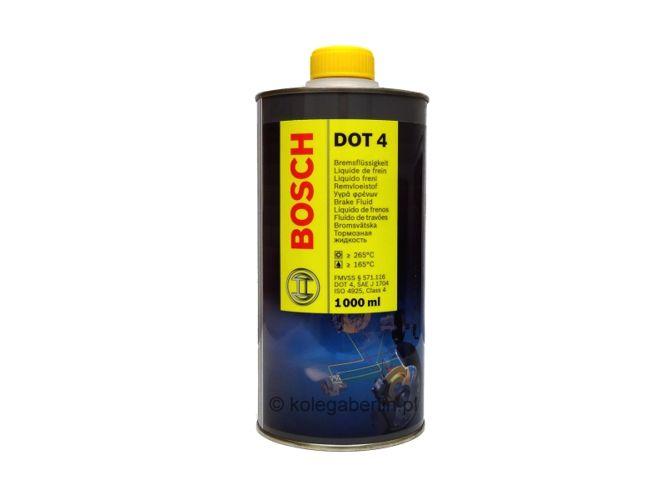 Спирачна течност -DOT 4  1L  BOSCH