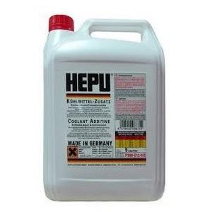 Антифриз червен концентрат  G12  5L  HEPU