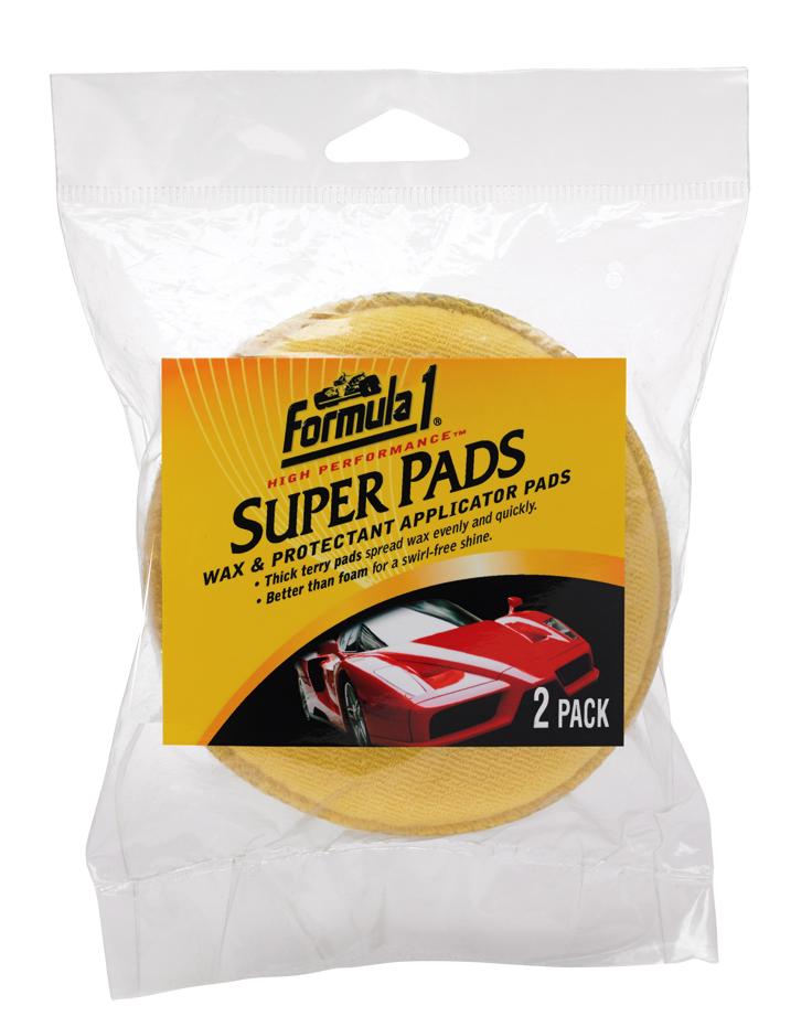 Гъба за пастиране 2 броя - Super pad 2 pack  FORMULA 1