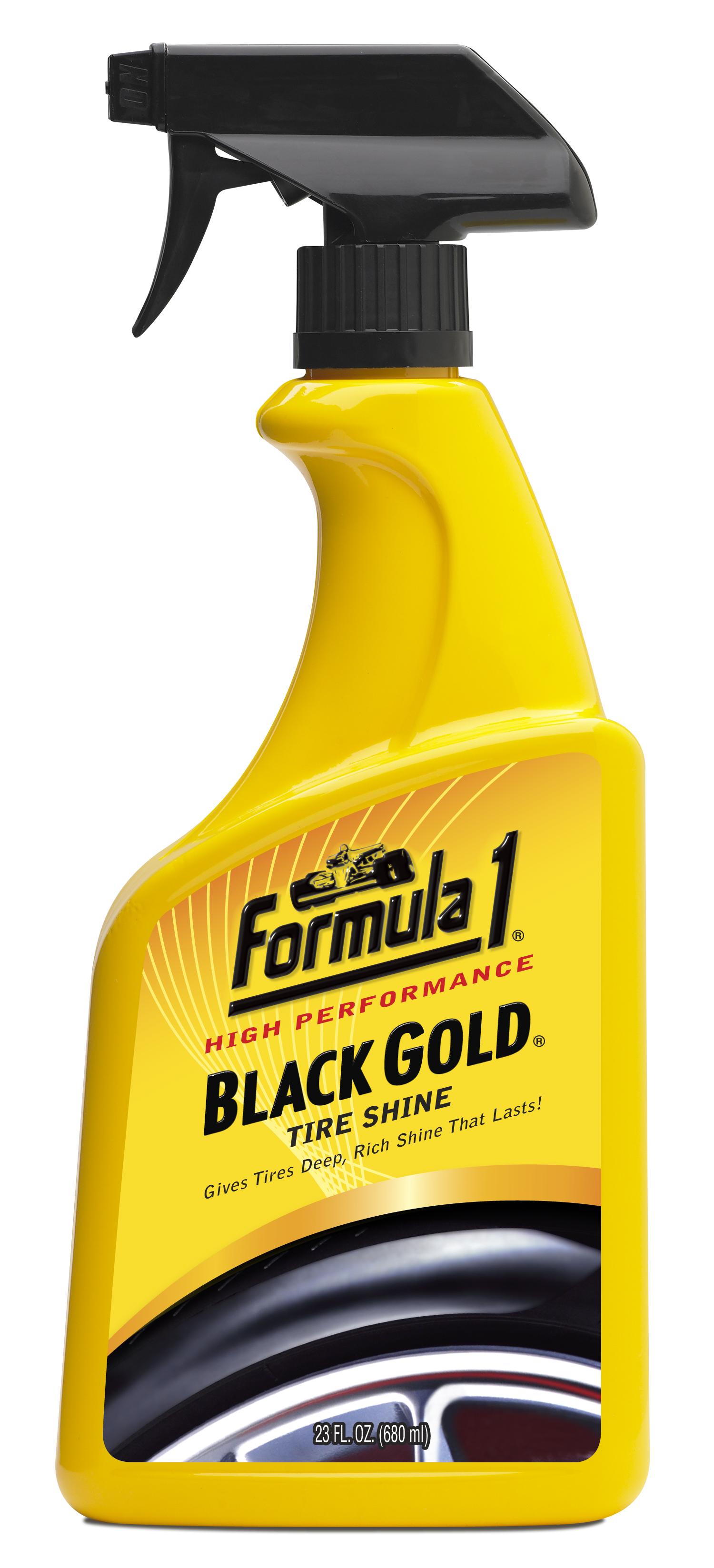 Почистване на гуми Black Gold FORMULA 1