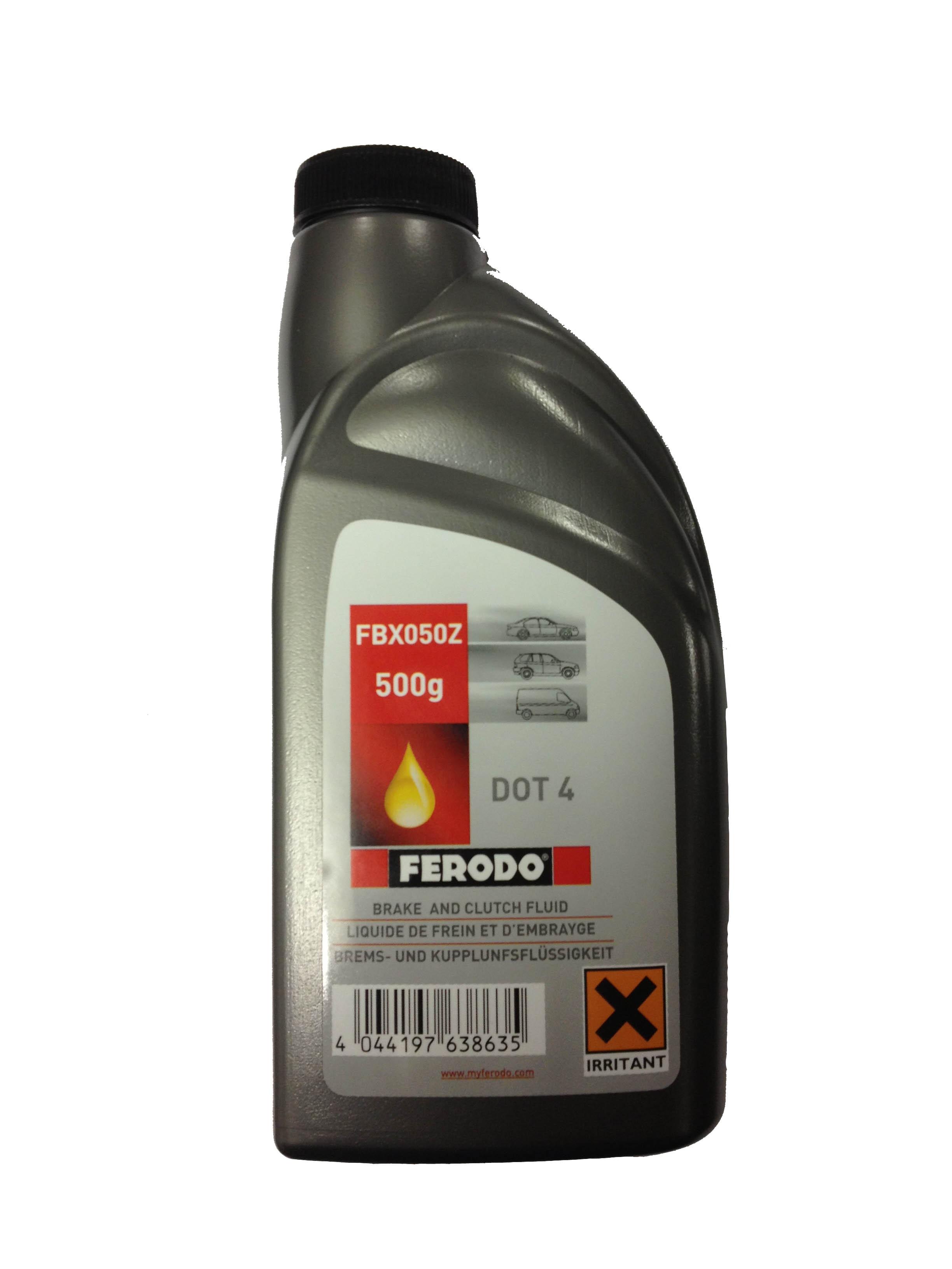 Спирачна течност FERODO DOT 4 - 500ml